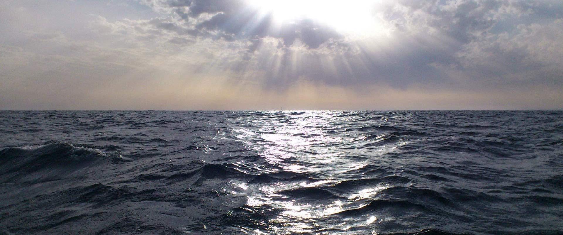 convoyage en mer